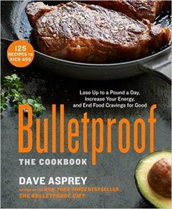"Portada del libro de Dave Asprey ""Bulletproof: The Cookbook"" (el libro de cocina bulletproof)"