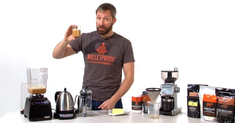 Dave Asprey (Bulletproof): café y más