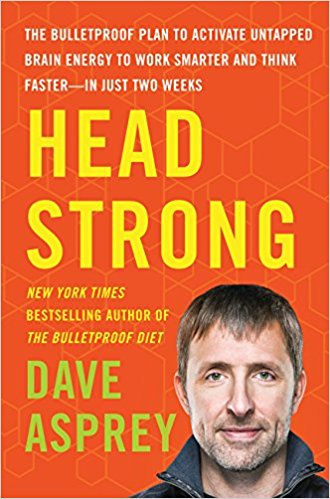 """Portada del libro de Dave Asprey """"Head Strong"""""""