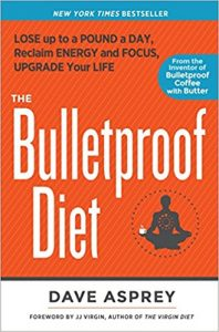 "Portada del libro ""La dieta bulletproof"" de Dave Asprey"""
