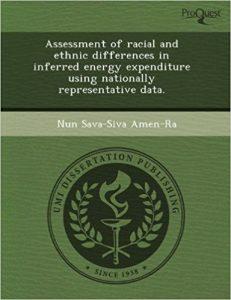 Portada de la tesis doctoral del dr Nun Amen Ra