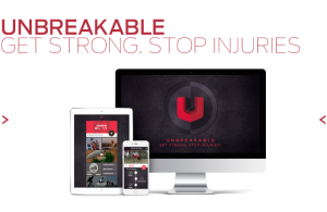 Unbreakable: get strong. Stop injuries.