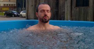 Baño de hielo (ice bath)