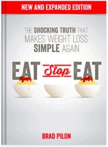 """Eat Stop Eat"" portada del libro de Brad Pilon"