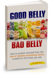 """Good Belly Bad Belly"" portada del libro de Brad Pilon"