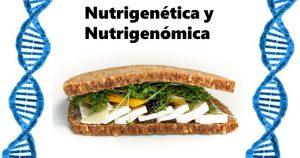 Portada de nutrigenética y nutrigenómica.